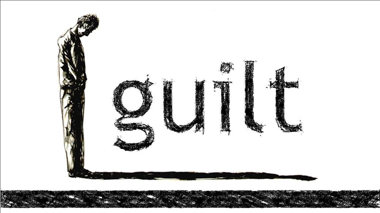 Image result for guilt