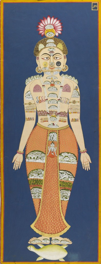The_Equivalence_of_Self_and_Universe_(detail),_folio_6_from_the_Siddha_Siddhanta_Paddhati,_(Bulaki),_1824_(Samvat_1881);_122_x_46_cm._Mehrangarh_Museum_Trust.